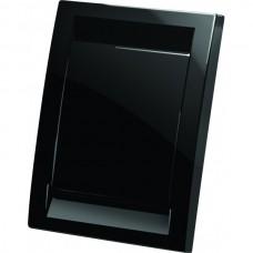 Евророзетка Deco пластиковая (черная)