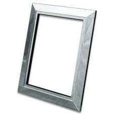 Декоративная рамка Deco металлическая (хром)